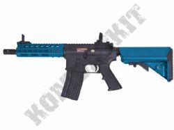 "ST-GBB10CBK M4 CQB 7"" Keymod Rifle Gas Blowback Airsoft BB Machine Gun Black & 2 Tone"